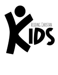 Redding Christian Kids Logo Black