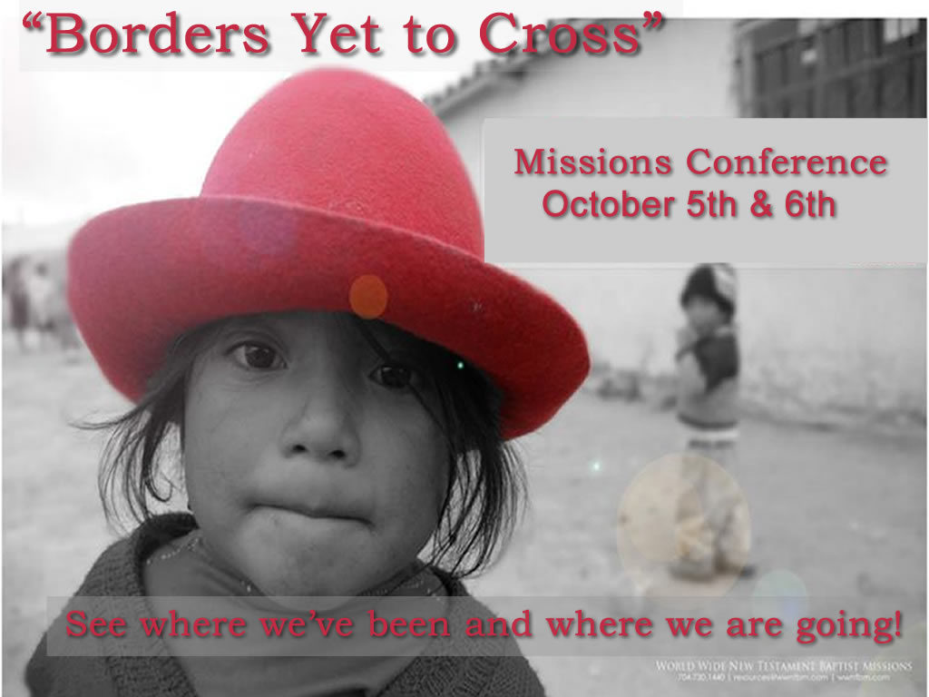 Borders yet to cross